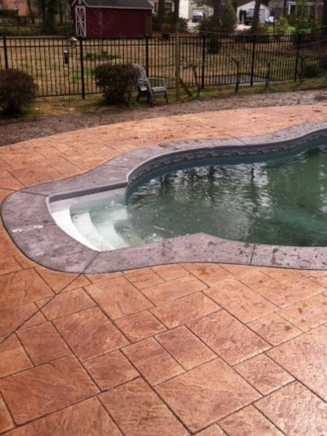 Think Stained Concrete Is Just for Your Home's Exterior?